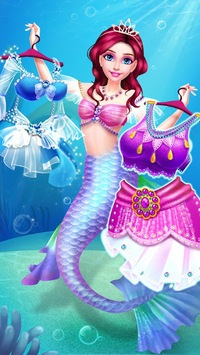 Mermaid Princess Makeup - Girl Fashion Salon APK screenshot 1