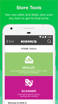 Kohl's: Scan, Shop, Pay & Save APK screenshot 1