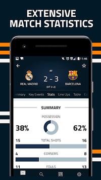 Goal Live Scores APK screenshot 1