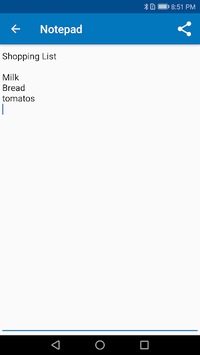 Memo - free notepad app APK screenshot 1