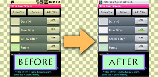 Filter Your Screen  - Free! pc screenshot