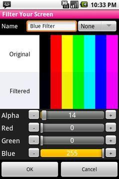 Filter Your Screen  - Free! APK screenshot 1