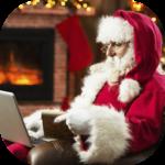 Real Video Call Santa icon