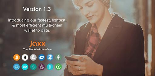 Jaxx Blockchain Wallet pc screenshot