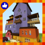 Hi New Neighbor Funny Minigame Map for MCPE for pc icon