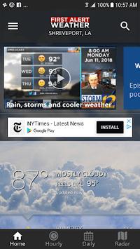 KSLA 12 First Alert Weather screenshot 1
