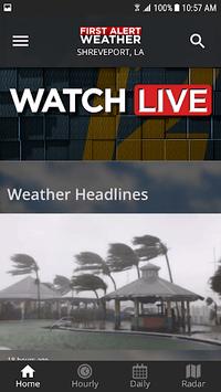 KSLA 12 First Alert Weather screenshot 2