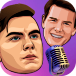 Celebrity voice changer plus: funny voice effects icon