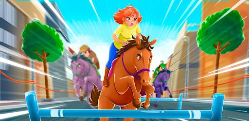 Cartoon Horse Riding - Derby Racing Game for Kids pc screenshot