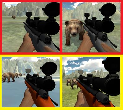 BEAR SNIPER HUNTER SURVIVE 3D apk screenshot 1