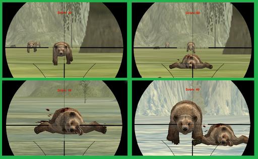 BEAR SNIPER HUNTER SURVIVE 3D apk screenshot 2