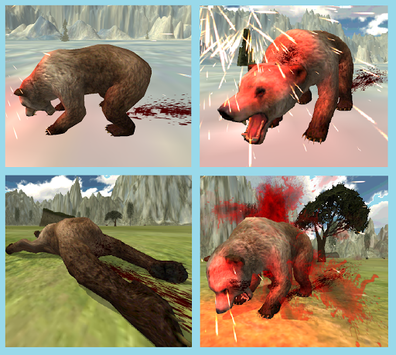 BEAR SNIPER HUNTER SURVIVE 3D apk screenshot 3