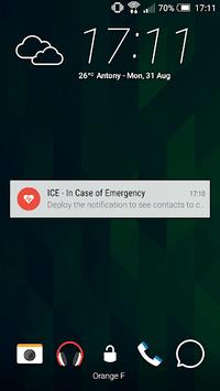 ICE - In Case of Emergency APK screenshot 1