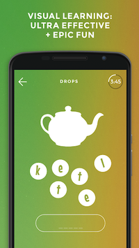 Drops: Learn English. Speak English. APK screenshot 1