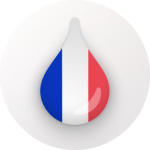 Drops: Learn French language and words for free for pc icon