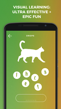 Drops: Learn French language and words for free APK screenshot 1