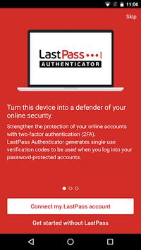 LastPass Authenticator APK screenshot 1