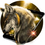 Golden Noble Wolf Theme icon