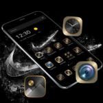 Black Gold Check Mark Theme FOR PC