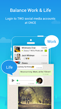 Parallel Space - Multiple accounts & Two face APK screenshot 1