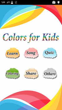 Learning Colors for Kids APK screenshot 1