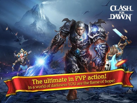 Clash for Dawn: Guild War APK screenshot 1