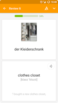 Flashcards maker:  learn languages and vocabulary APK screenshot 1