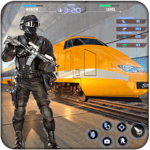 Train Counter Terrorist Attack FPS Shooting Games icon