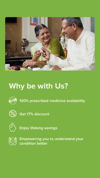 LifCare - Online Medicine & Lab Tests APK screenshot 1