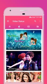 Video Status APK screenshot 1