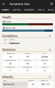 Fight Club 5th Edition APK screenshot 1