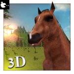 Horse Simulator 3d Animal Game: horse adventure icon