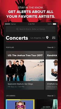 Live Nation At The Concert APK screenshot 1