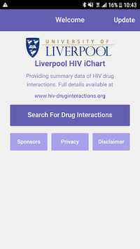 Liverpool HIV iChart APK screenshot 1