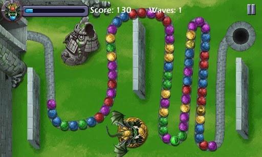 Dragon Marble Crusher APK screenshot 1