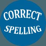 Correct Spelling icon