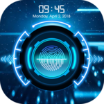 lock screen Fingerprint icon