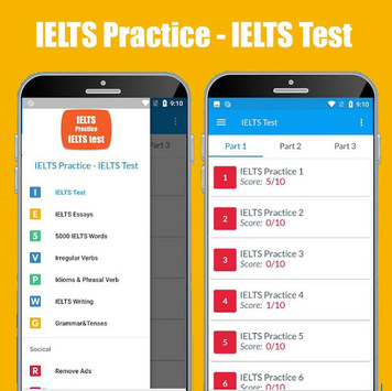 IELTS Practice & IELTS Test (Band 9) APK screenshot 1