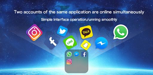 Dual Space - Multiple Accounts & App Cloner pc screenshot
