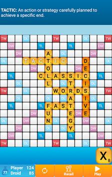 Classic Words Solo APK screenshot 1