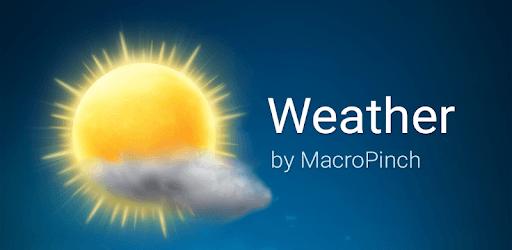 Weather pc screenshot