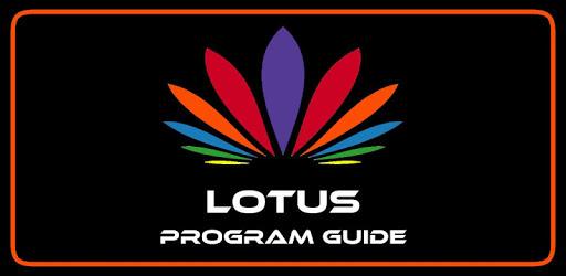 Lotus Program Guide pc screenshot