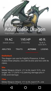Monsters & Generators for D&D APK screenshot 1
