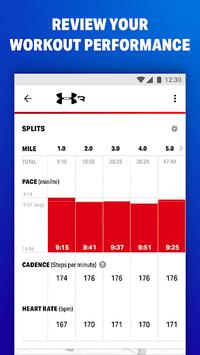Map My Fitness Workout Trainer APK screenshot 1