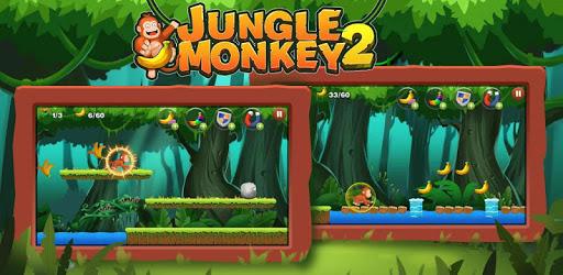Jungle Monkey Run pc screenshot