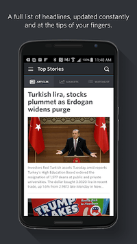 MarketWatch APK screenshot 1