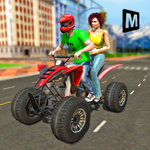 ATV Taxi Sim 2018 icon