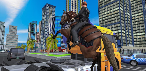 Mounted Police Horse Chase 3D pc screenshot