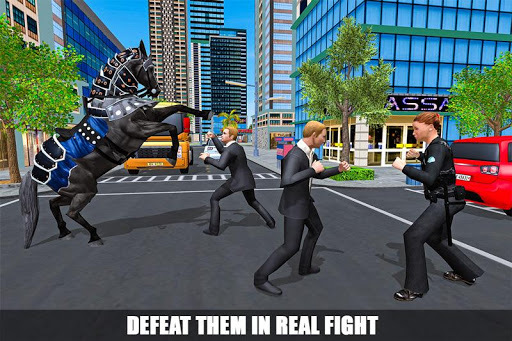 Mounted Police Horse Chase 3D APK screenshot 1