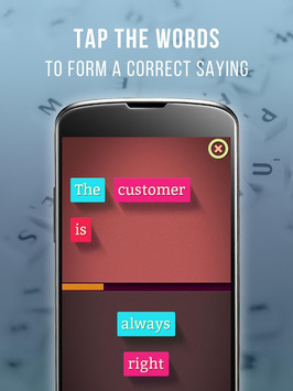Learn English Vocabulary & Sayings- Sayings Master APK screenshot 1